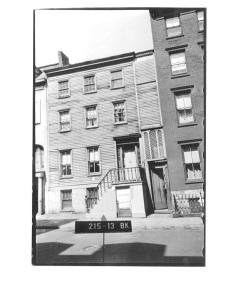58 Hicks Street tax photo c.1940