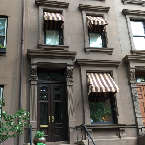 Victorian Canvas Shade Awnings Old Brooklyn Heights